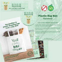 Physical Kit Plastic Shopping Bag Ban Green Business HQ